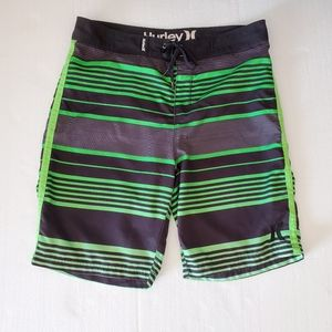 Hurley Wayfarer Men's Stripes Boardshorts Waist 36
